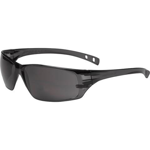 163e55e0a73 Dynamic Safety Solus 3A Coated Safety Glasses Smoke Temple Smoke ...